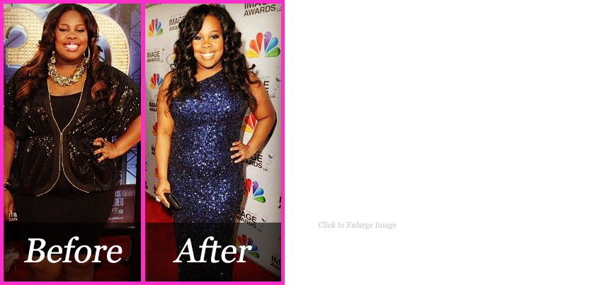 "Amber Riley of NBC's ""Glee"" TV Series"