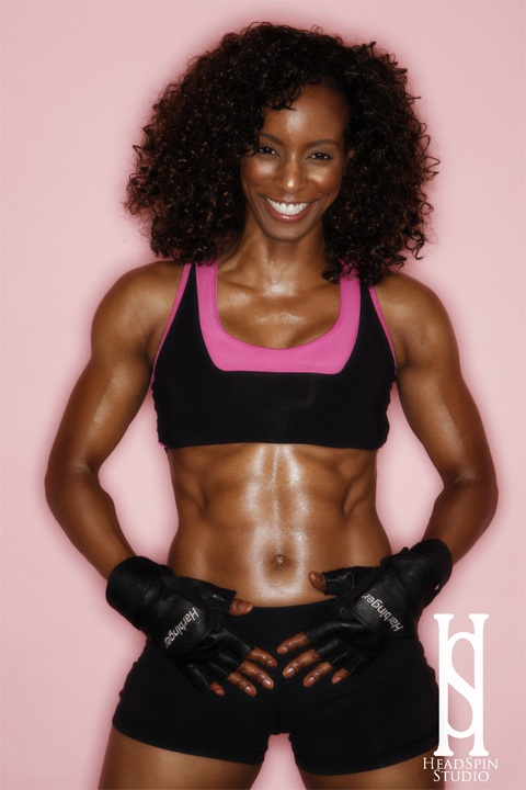 Madison Chase Fitness Worlds Only ESPN 3 Time Miss Fitness Champ Abs